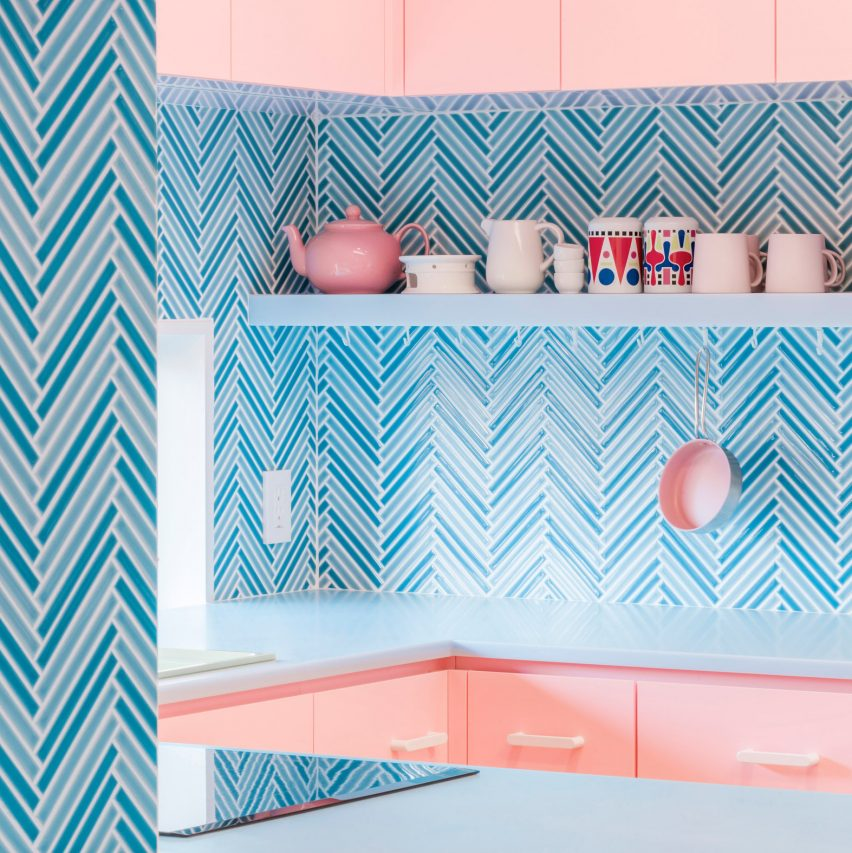 Browse colourful kitchen designs on this week's Pinterest board
