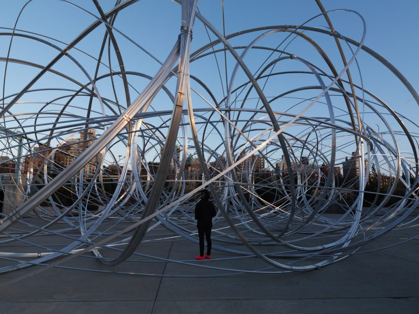 New York Clearing by Antony Gormley