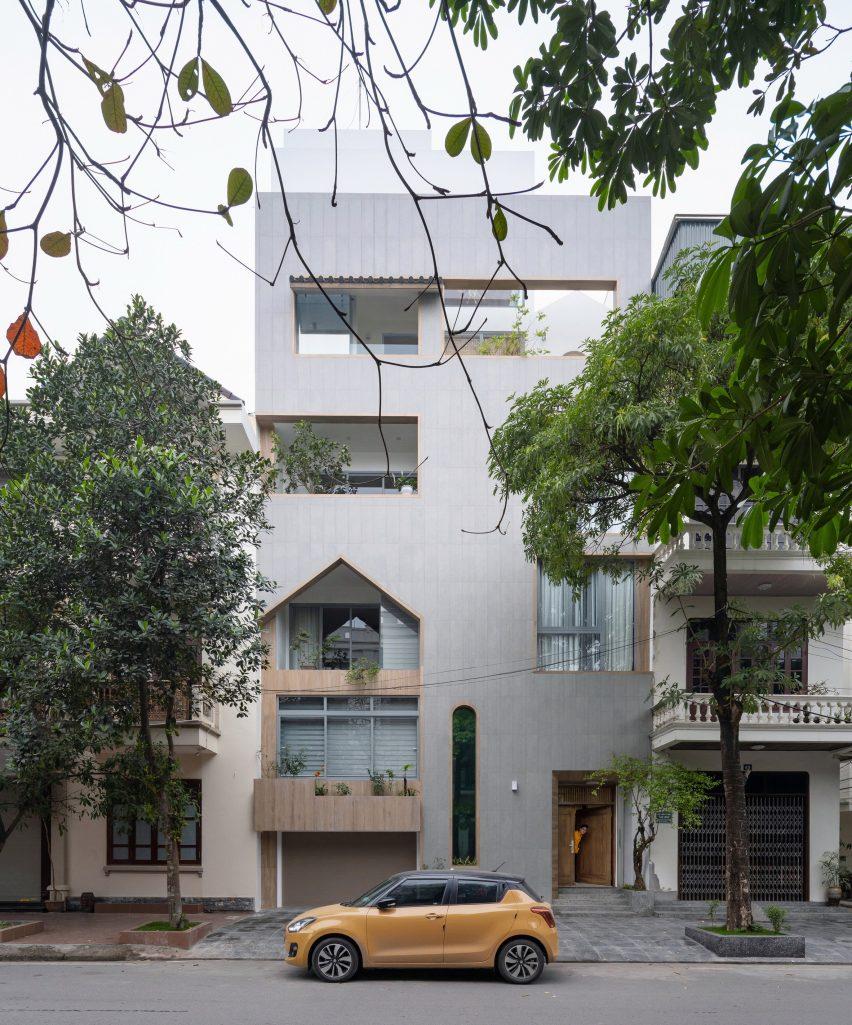Nhà Đâu Đau by Landmak Architecture