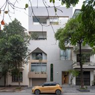 Compact house in Vietnam contains planted courtyards