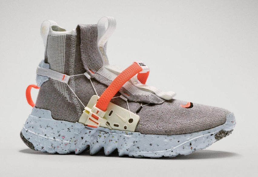 Nike releases Space Hippie footwear made from recycled factory waste