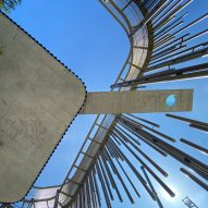 Clavel Arquitectos reveals longest cantilevered swimming pool in Europe