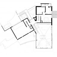 Hollywood Hills by Mutuus Studio First Floor Plan