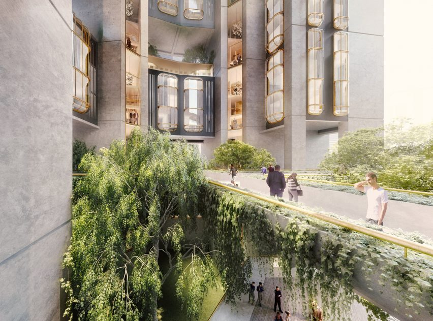 Qianhai Talents' Apartments by Foster + Partners for Shenzhen, China