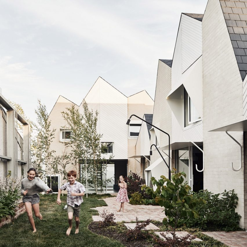 Zigzag roofs top extension in Melbourne by Austin Maynard Architects