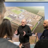 Rem Koolhaas at Countryside, The Future in the Guggenheim museum New York