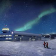 Hugh Broughton Architects and Ramboll design aerodynamic Antarctic research centre
