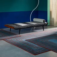 """Sebastian Wrong's modular rugs can be connected into an """"endless field"""""""
