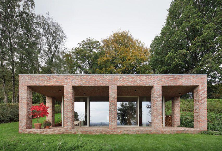 Sloped Villa by Studio Okami in Belgium