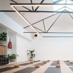 Yoga Poses Inspire Interiors Of Dublin S The Space Between