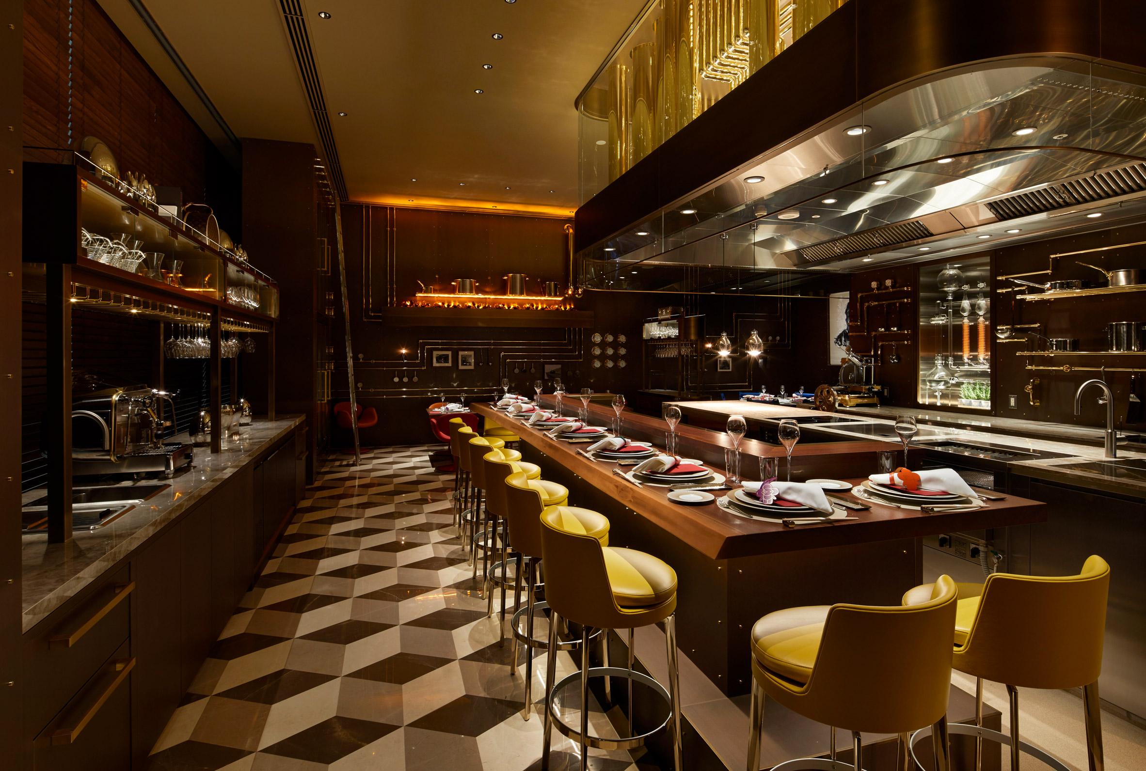 Sugalabo V restaurant inside Louis Vuitton's Osaka Midosuji store