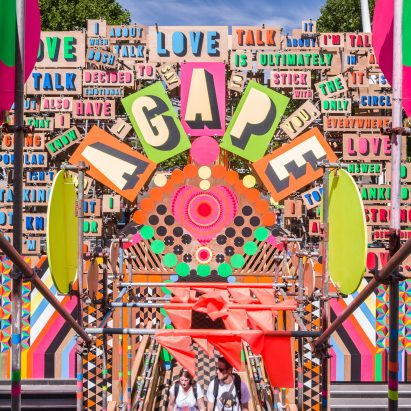 Morag Myerscough calls out Sulafest