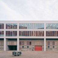 Space Encounters puts office building on stilts above brick warehouse