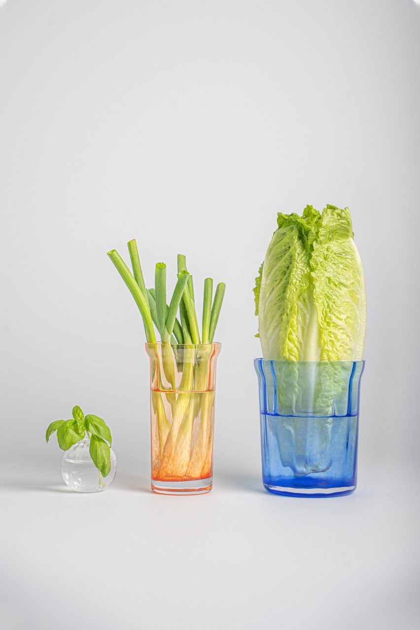 Lund University students cast household items in glass instead of plastic