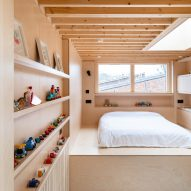 Bradley Van Der Straeten adds hidden half-storey extension to London home