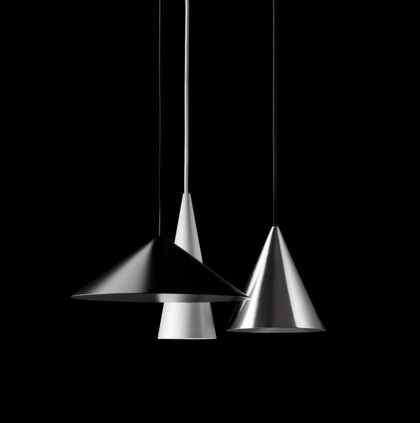 W151 pendant shades by Claesson Koivisto Rune for Wästberg