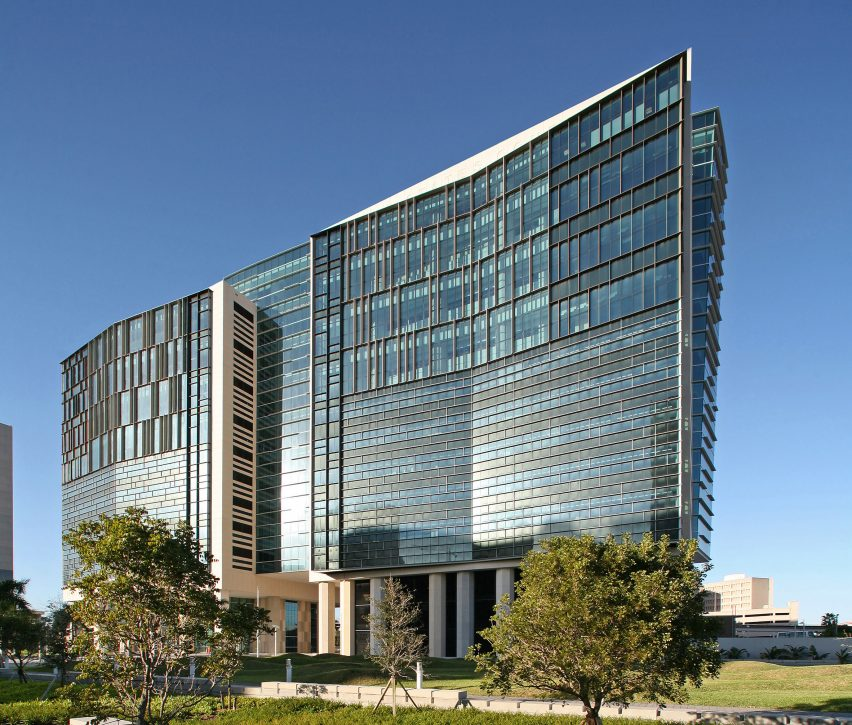 Wilkie D Ferguson Courthouse in Miami by Arquitectonica