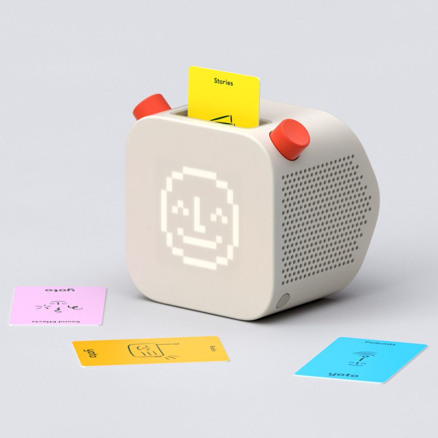 Pentagram and Yoto design screen-free audio player for children