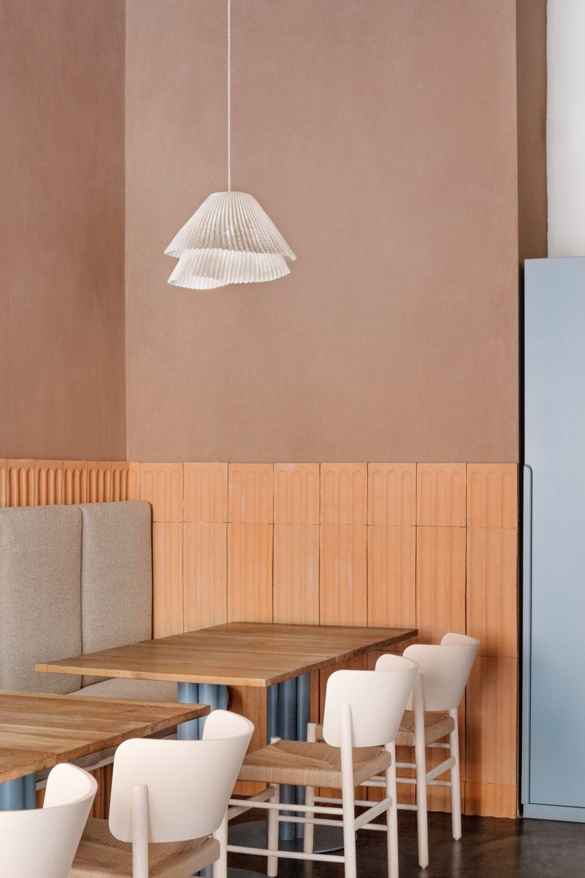 28 Posti restaurant designed by Cristina Celestino