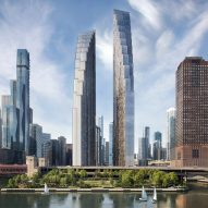 David Childs redesigns halted towers for Chicago Spire site