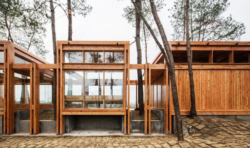 Pine Pavilion by DnA_Design and Architecture