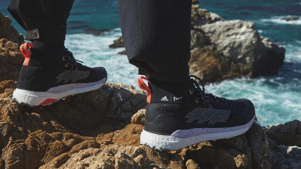 Adidas uses Parley ocean plastic for Terrex Free Hiker shoe