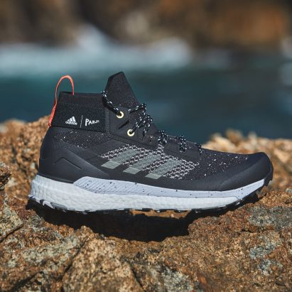 Adidas uses Parley ocean plastic for updated upper on its Terrex Free Hiker shoe