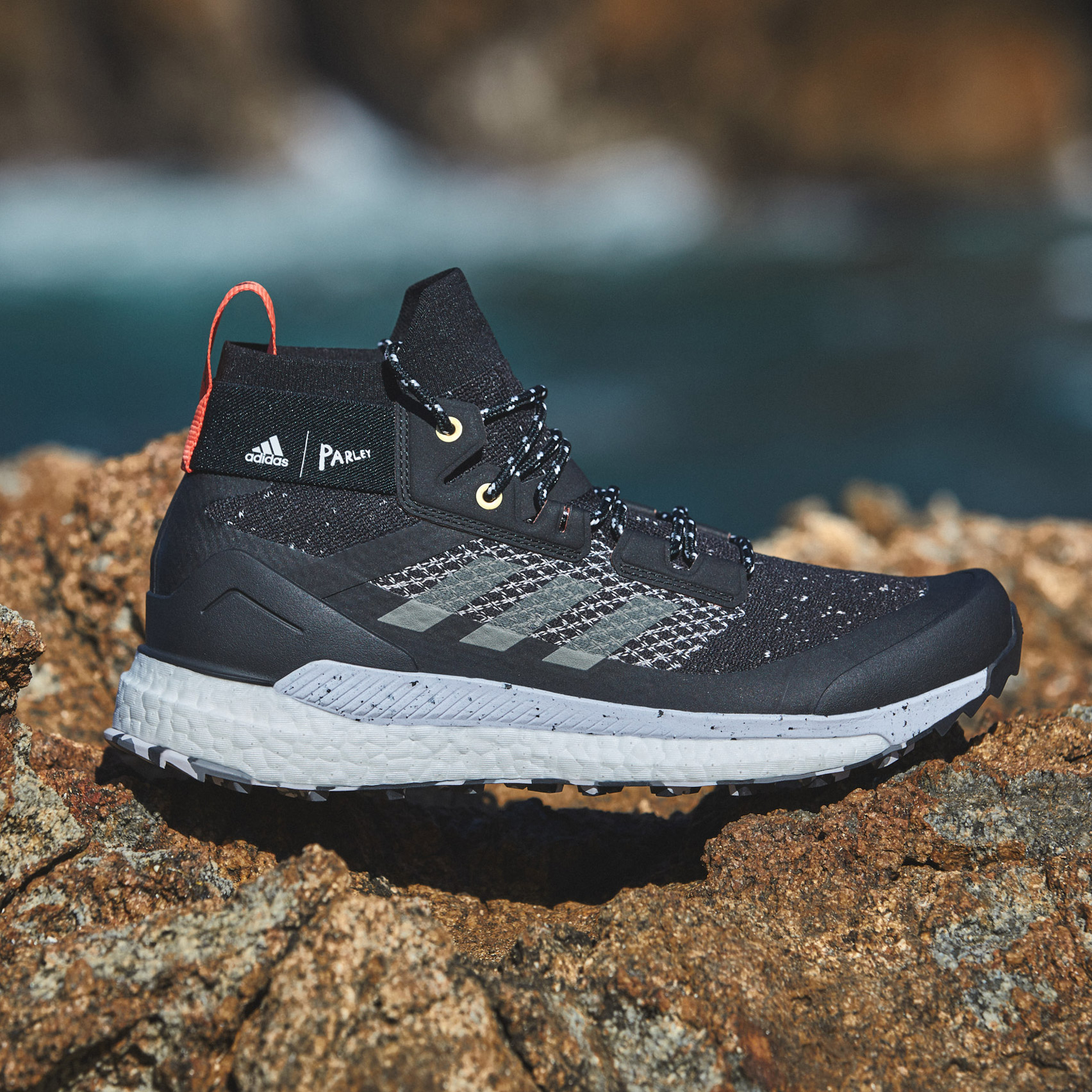 Adidas uses Parley ocean plastic for