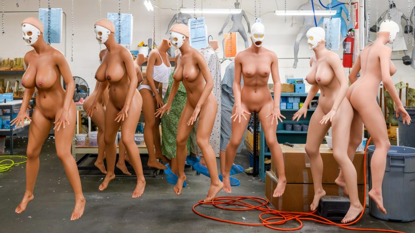 Alastair Philip Wiper, Sex doll workshop, RealDoll, USA