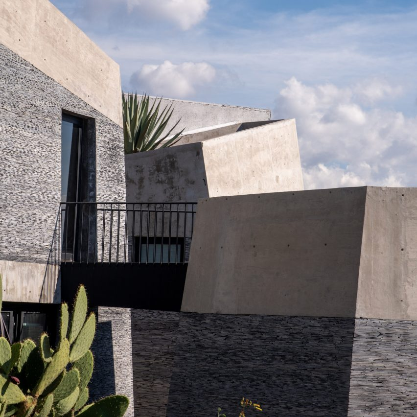 "Angular ""boulders"" form Amanali house in Mexico by Rojkind Arquitectos"