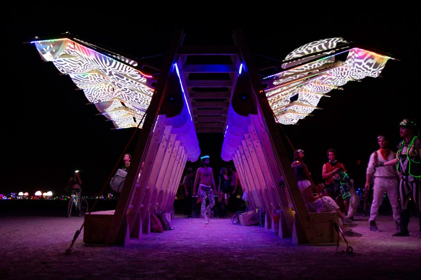 Archaeopteryx at Burning Man 2019