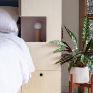 Barbican Dancer's Studio by Intervention Architecture bedside furniture