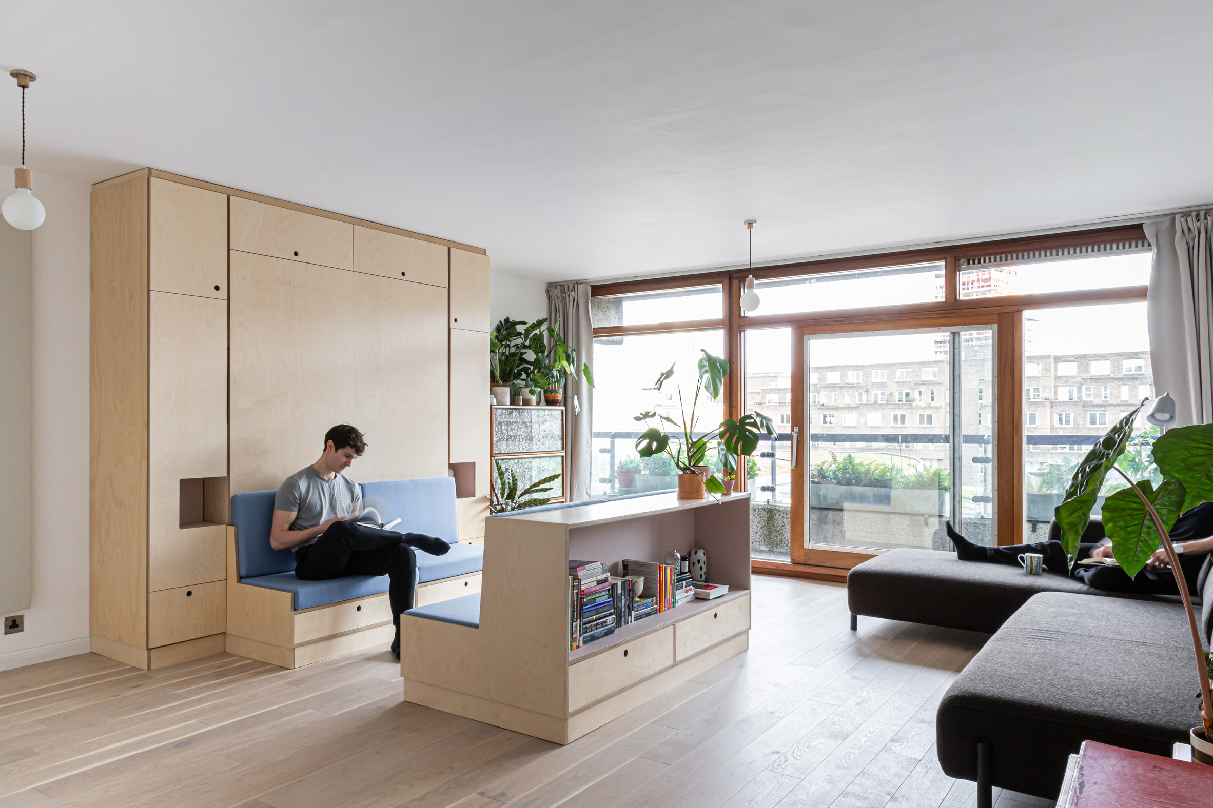 Barbican Dancer's Studio by Intervention Architecture seating