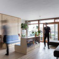 Barbican Dancer's Studio by Intervention Architecture reconfigurable space