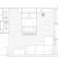 Barbican Dancer's Studio by Intervention Architecture floor plan