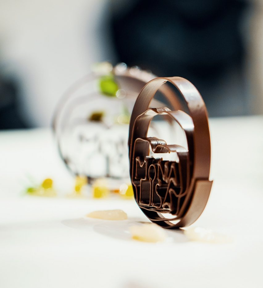 Barry Callebaut 3D-prints intricate desserts in Belgian chocolate