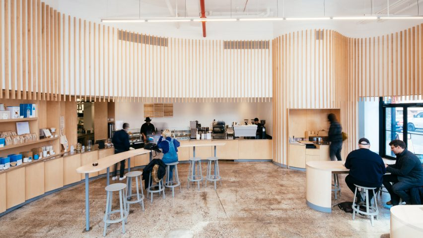 Blue Bottle Williamsburg renovation by Bohlin Cywinski Jackson