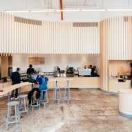 Bohlin Cywinski Jackson touches up its design for Williamsburg's Blue Bottle Coffee