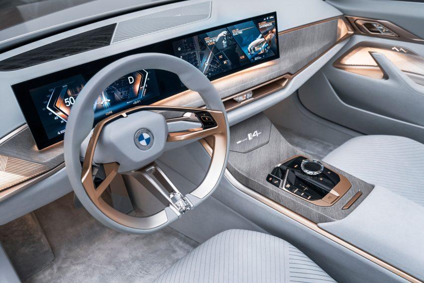 BMW unveils flat logo