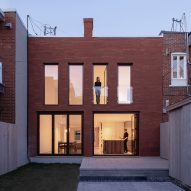 Natalie Dionne Architecture creates Brick House from Montreal apartment building