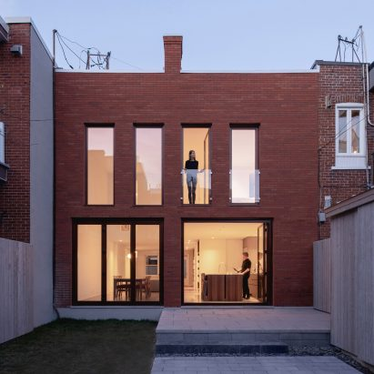 Brick House by Natalie Dionne Architecture