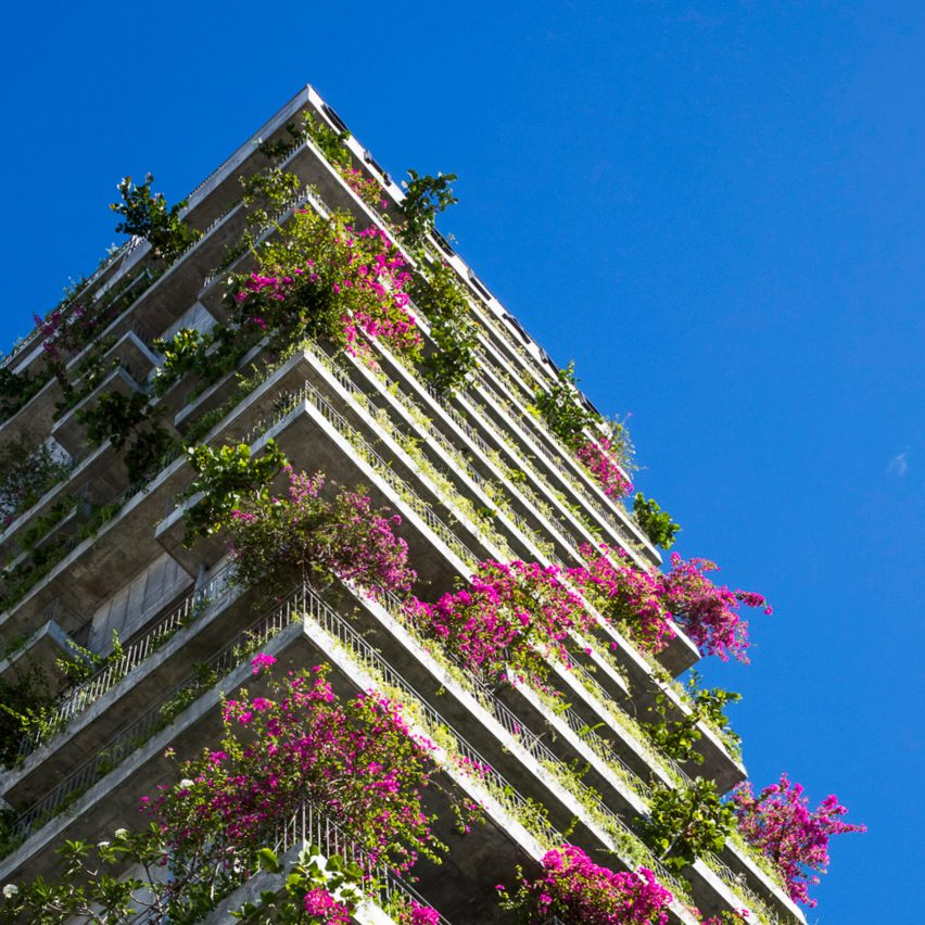 Mark the arrival of spring with our plant-covered buildings Pinterest board