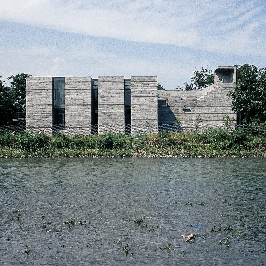 Luyeyuan Ston Sculpture Art Museum by Jiakun Architects from Chinese Brutalism Today