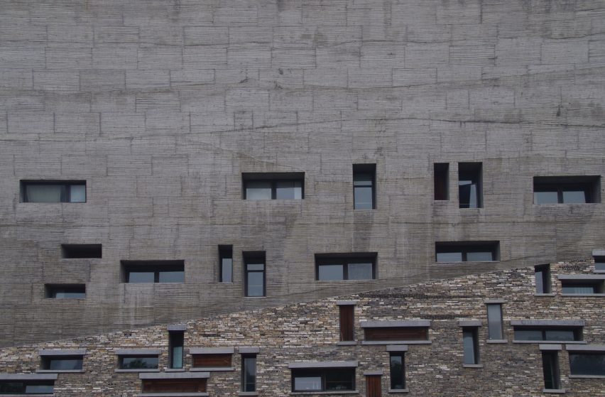 Ningbo History Museum by Amateur Architecture Studio from Chinese Brutalism Today