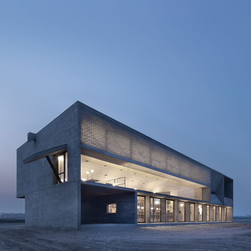 Seashore Library by Vector Architects from Chinese Brutalism Today