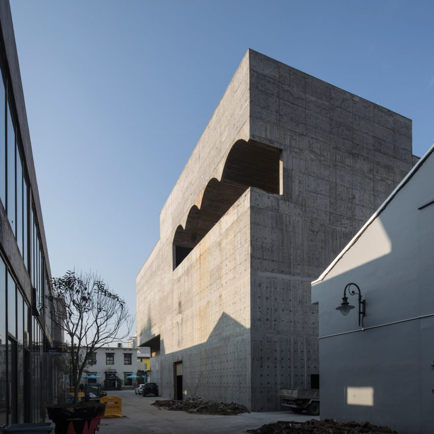 Taizhou Contemporary Art Museum by Atelier Deshaus