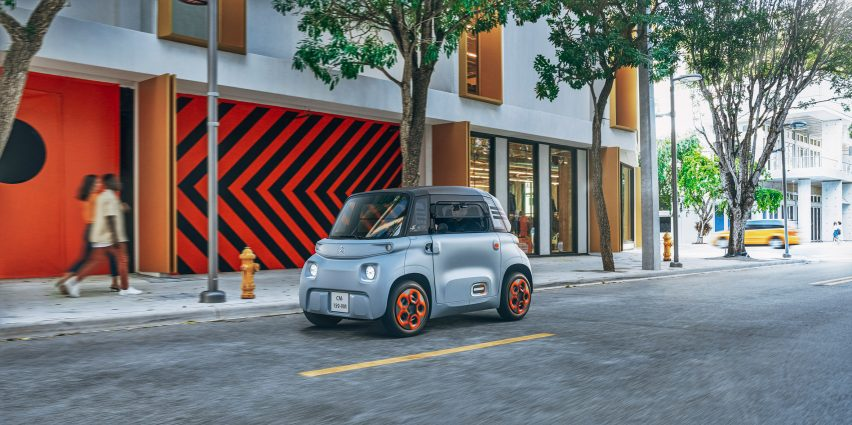 "Citroën rolls out accessible-to-all Ami car that works ""just like a smartphone"""