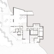 Collywood House by Olson Kundig Ground Floor Plan