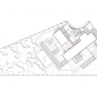 Collywood House by Olson Kundig Site Plan