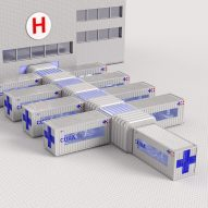 Carlo Ratti Associati designs shipping-container intensive care units for coronavirus treatment